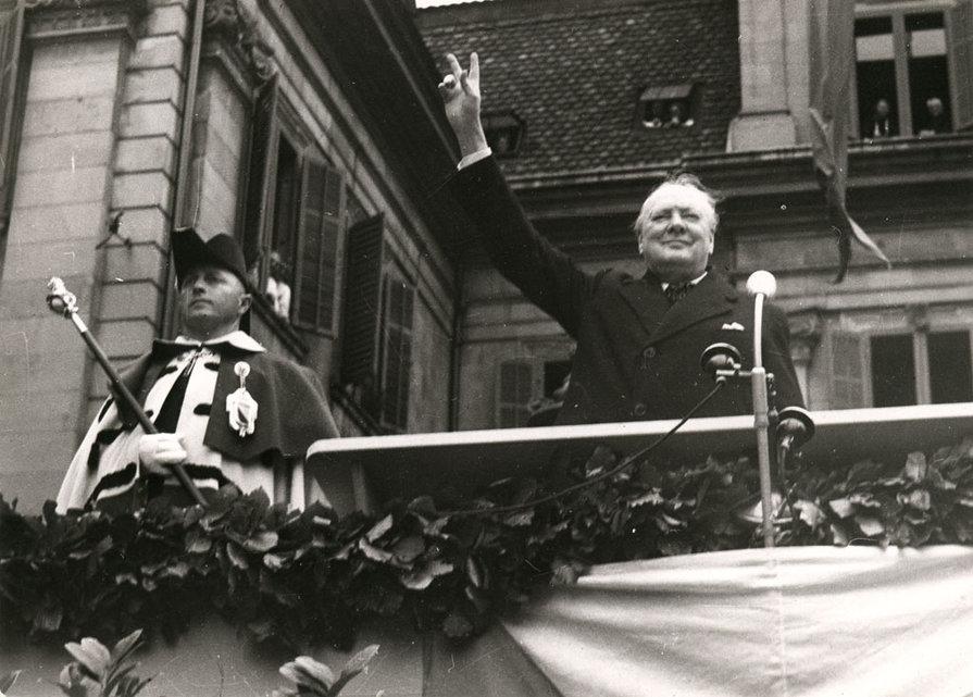 Winston Churchill - Zürcher Rede