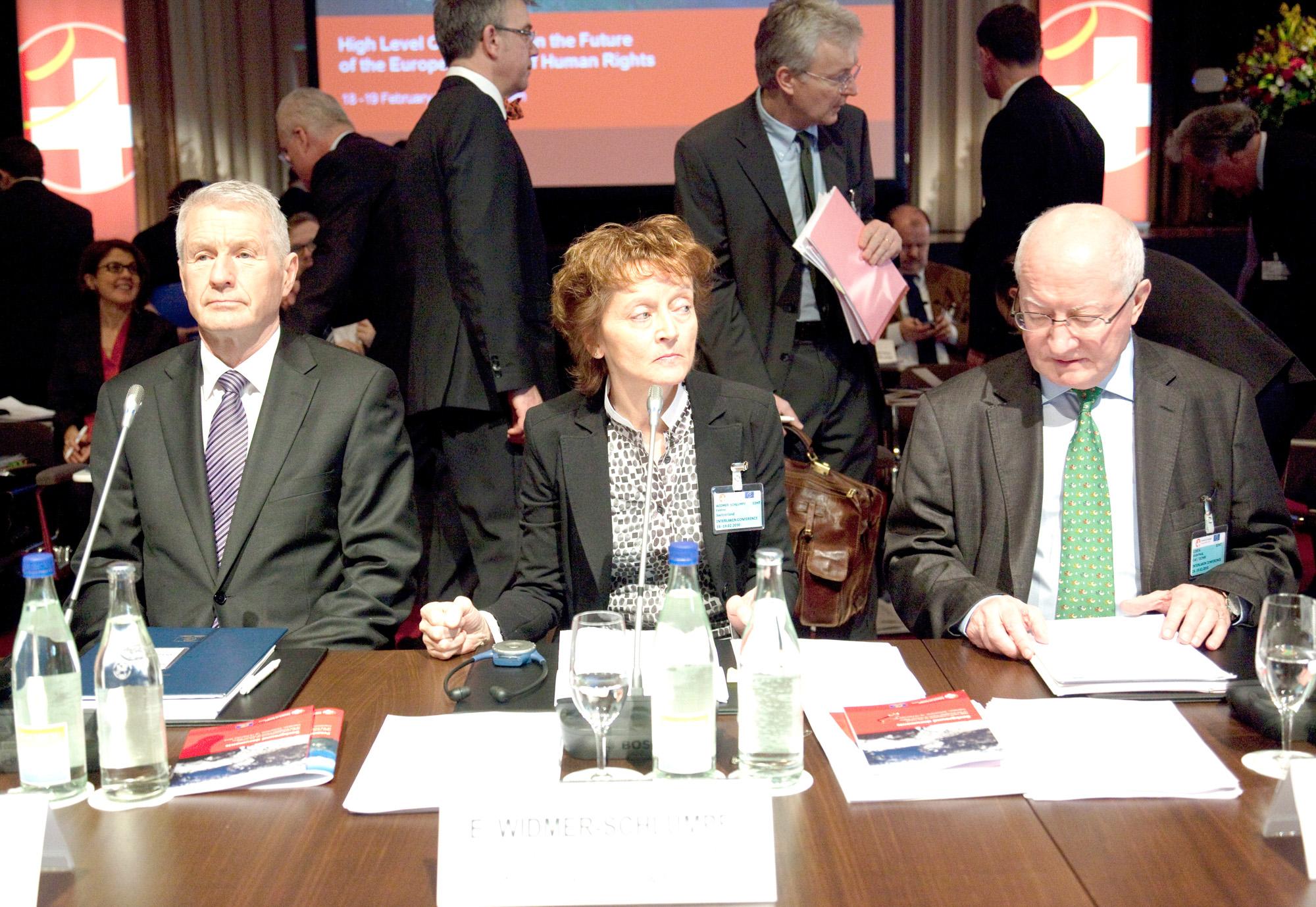 Interlaken-Konferenz ueber die Zukunft des Europaeischen Gerichtshof fuer Menschenrechte